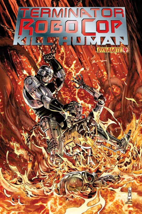 Comic Book Preview: 'Terminator/Robocop: Kill Human' #4