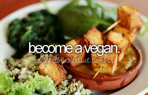 I wasn't sure whether to put 'become vegan' or 'become a vegan'. :| Someone let me know if this is wrong.