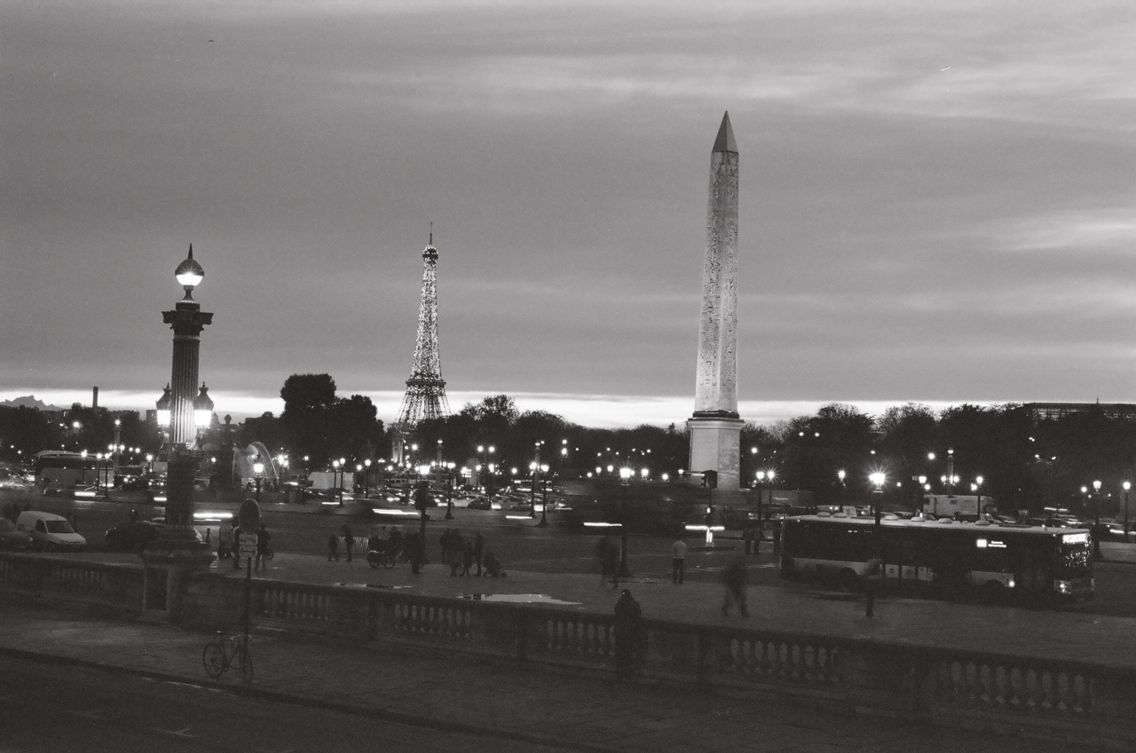 Place de la Concorde, Paris.