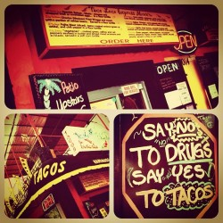 Taco joint (Taken with instagram)