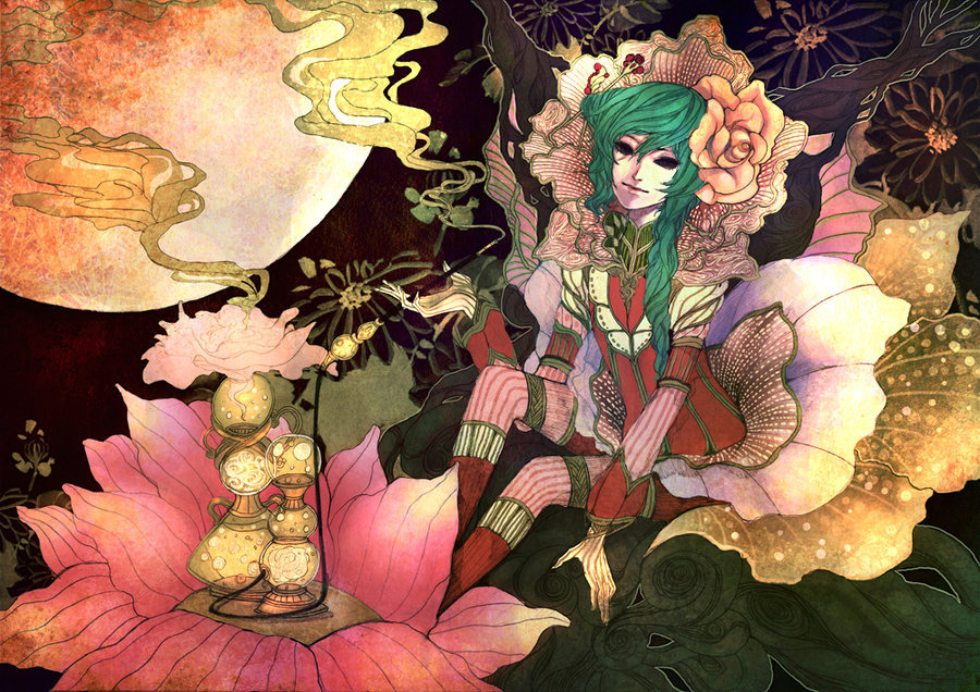 bookspaperscissors:  Kalika & Scented Trail | Toonikun