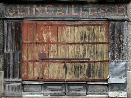 VINTAGE FRENCH SHOPFRONTS by TrautsOnline