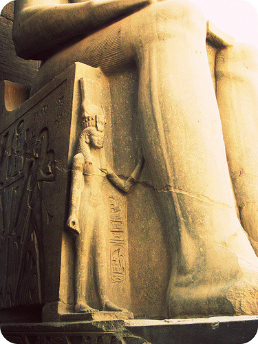 aboutegypt:  Leg, Luxor, Egypt, November 2011. (by cheri lucas.)