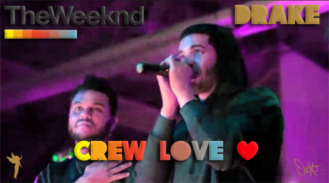 barsham:  Drake x The Weeknd - Crew Love