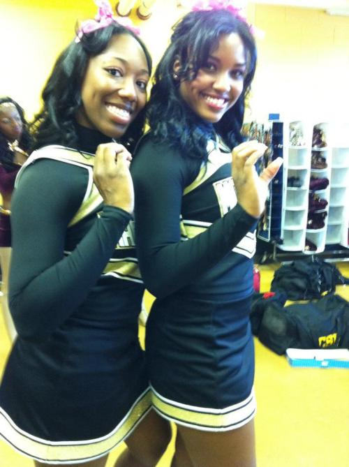 Me and My Captain Carmalita!! #CheerPhi <3 This Chick!