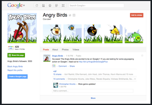 "Google+ just announced brand pages! Have you created one for your business yet? - Read the full article, ""Google+ Launches Branded Pages"" via Mashable here."