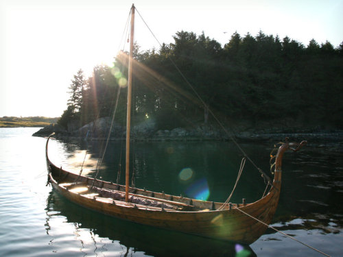 Picture taken by me on Viking festival of Avaldsnes in 2009.