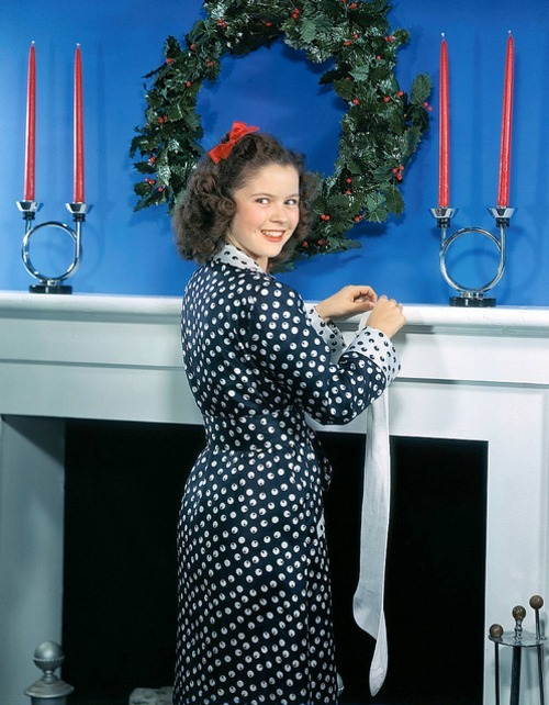Merry Christmas from Shirley Temple!