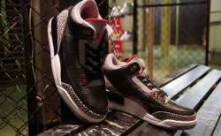 Air Jordan III Black/Cement