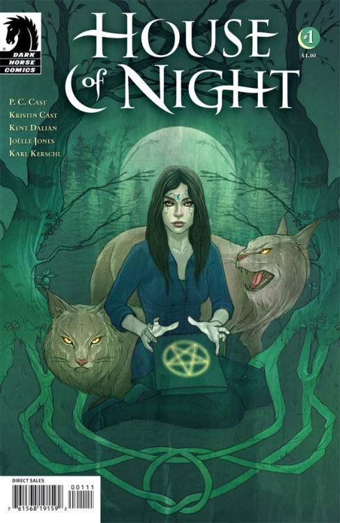Market Monday House of Night #1, art by Joëlle Jones, cover by Jenny Frison, based on the novel by P.C. and Kristin Cast ~Preview~