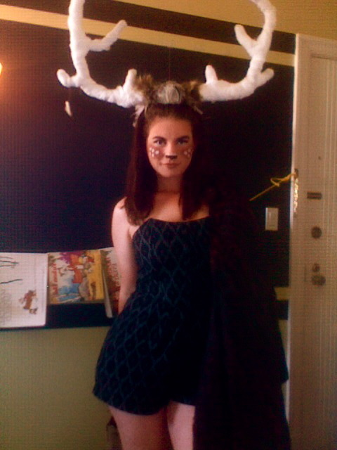 "My Halloween costume this year was titled ""Deer Santa"". I dressed as a reindeer and handed out little pieces of paper for people to write their wishes on and tie to my antlers so I could bring them to Santa before the holidays. Of course, I couldn't just NOT read the wishes before sending them off to the Big Guy, so I would now like to share a few of my favorites with you.   ""I want to be invisible for 74 straight hours."" ""For Christmas, I want the two-headed dragon that is above the bar @ Uptown."" ""I wish to decide who I am in love with."" ""Peace on Earth and for Miguel to love me."" ""I want a girlfriend, of course!"" ""I wish to know how to be happy."" ""I wish my injury heals quickly."" ""I want to swim like a shark!"" ""SPIDERMAN POWERS!… that is all."" ""A BIG COCK!… thanks. :)"" ""Hey Antlers. I want some antlers of my own."" And my favorite of the night- ""I wish for Zuckerberg's pin #"" Over a third of the wishes I received that night were some form of, ""I wish to find my one true love."" I was discussing this a few days ago with a new friend I happened to meet that night and he couldn't decide if it was sad or sweet that I had received so many of these. It could be a little of both. But since we were at a party full of twenty-somethings who were all new to San Francisco, I like to be optimistic for them. One of the wishes said it perfectly: ""I wish for all those who wish to realize that dreams don't come true. They are true."" I'm reading a book called ""Enjoy Every Sandwich"" by Dr. Lee Lipsenthal, a very dear family friend who was diagnosed with esophageal cancer in 2009. Being a physician, he knew his chances of dying were incredibly high. He knew he didn't have a lot of time. But he didn't want to fight. He didn't want to spend his last remaining months struggling and stressing. So instead, he spent his time meditating. He reflected on how grateful he was for the people in his life and for the blessings he'd been given and the beauty there was in the world. In his last months, while he spent time with his wife and kids and friends, he wrote a beautiful book that was his absolute truth. It's being advertised as a book about dying, but that's not what it's about at all. It's a book about living. ""It may strike you as odd that I could have so much gratitude for this life that I was about to lose, but I had approached my life a bit differently than most. Every day for the last twenty years, I have practiced gratitude. I started by thinking about the things I was grateful for on a daily basis, reminding myself how lucky I was. Later, I began to use gratitude in my meditation practice. Gratitude became a small practice with a big payoff. In fact it is a vital part of savoring this sandwich of life. I was not born with this mind-set, growing up in a family that treated every death and illness as if it were a tragedy, and was trained by a medical community where death was the enemy. Yet for me, July 24, 2009, was simply, a good day to die."" Lee talks about making every single day of your life 'a good day to die'; living every day as if it was your last. THAT'S when you truly start to live. And that's when fear of death, and fear in general, start to disappear. I never told anybody what I wrote down for my holiday wish. I wrote, ""I wish for a moment of pure radiance and beauty. I wish to stop for that moment and reflect on my past and my future and think, 'Fate brought me here. I'm so glad'."" I didn't realize at the time, but I wished for gratitude. I'm going to complete my project by keeping my promise and sending all of these wishes to Santa's address which I found online -P.O. box 56009 North Pole, Alaska, 99705-1099- in the hope that some kind of magic will come of the gesture. Who knows. Maybe Lee's out there somewhere ready to put on his Santa hat to see what he can do to help.  He's already granted my wish. If you're curious about Lee's book, here's a short video trailer. You can listen to his story in his own words. Or you can visit the facebook page."