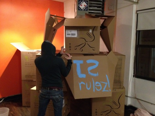 Sometimes, you need to build a fort @tutorspree hq