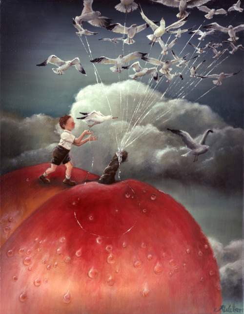 Karen Watson: James and the Giant Peach