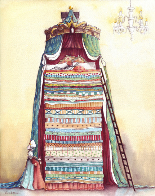 Karen Watson: The Princess and The Pea