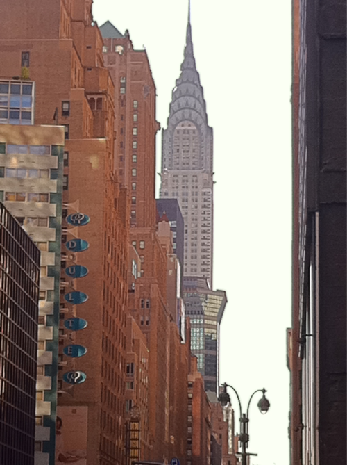 The Chrysler Building, NYC Photo: November 5, 2011. Karen Glosser