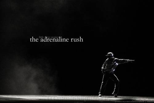 Little Dance Moments: The adrenaline rush. (divalindsey)