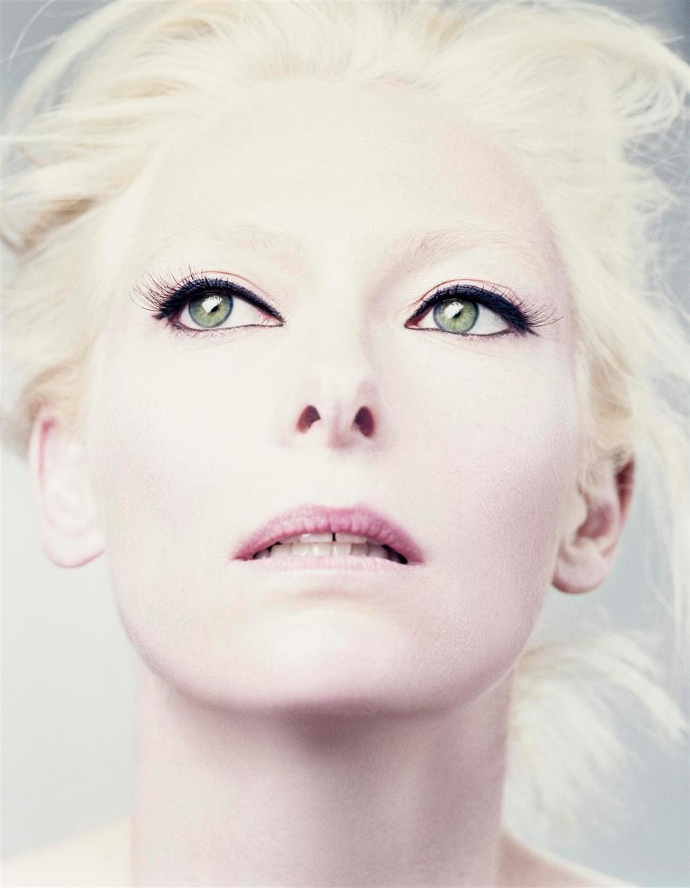 bohemea:  Tilda Swinton - AnOther by Craig McDean, Fall/Winter 2005