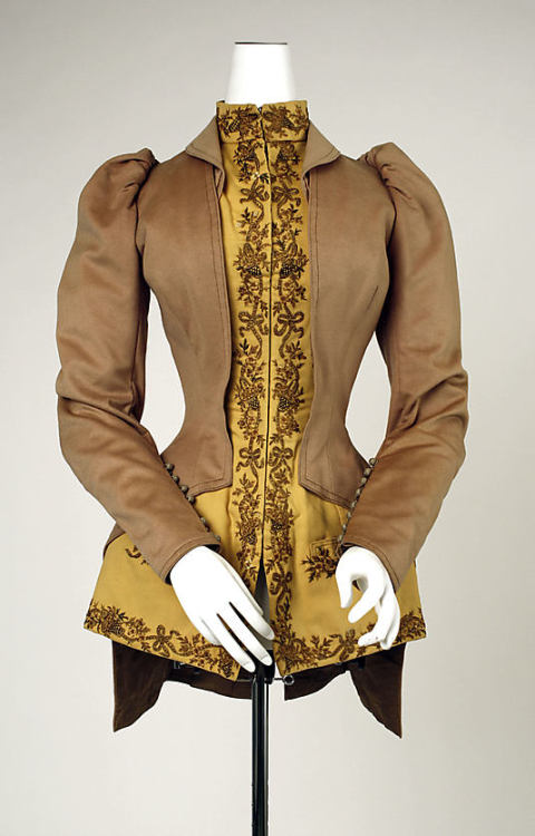 Jacket, early 1890's Germany, the Met Museum
