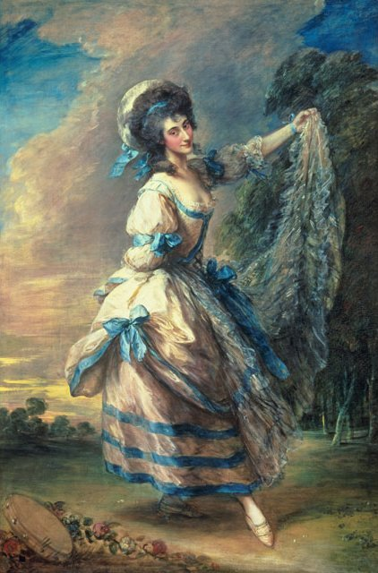 Portrait of Giovanna Baccelli by Thomas Gainsborough, ca 1782, Tate Britain
