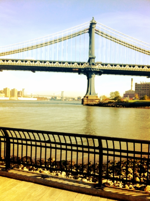 Hello Dumbo lunch spot.