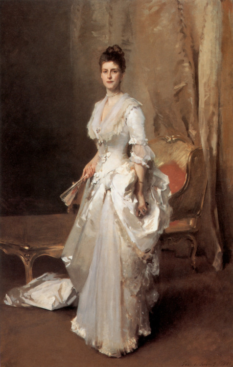 Mrs Henry White by John Singer Sargent, 1883 US, Corcoran Gallery of Art