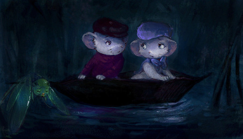 the Rescuers on Flickr.(colored one of my 365 sketches in photoshop)