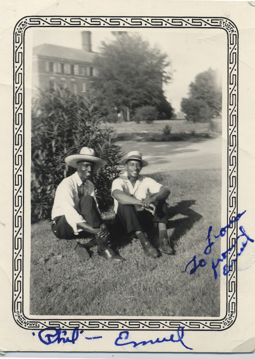 To Lora, From Emiel Phil & Emiel San Antonio,Texas 1920's-30 ©WaheedPhotoArchive, 2011