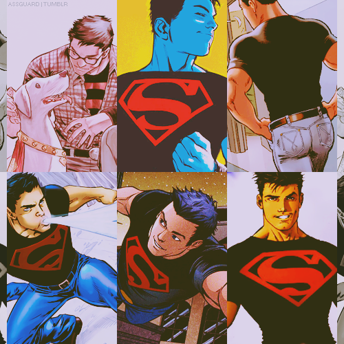 assguard:  six favorite photos ➝ ( superboy - conner kent )  You are sexy and you know it. *__*