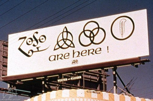 "ishmak:  ""40 Years ago today, This mysterious billboard went on display on Sunset Blvd. in Los Angeles."""