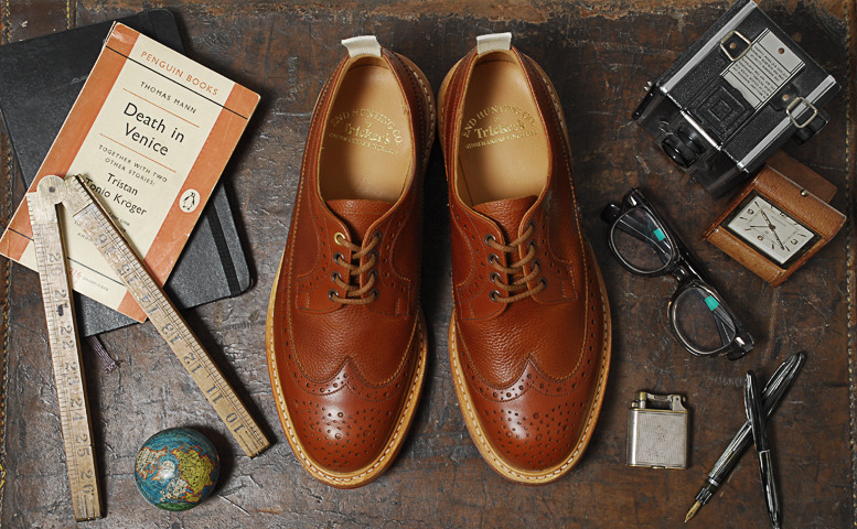 dapperpusher:  (via Tricker's for End Hunting Co. Part I – Long Wing Country Brogue « End Clothing Blog)