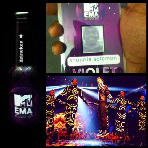 #MTVEMA 2011  (Taken with Instagram at Belfast, Ireland)