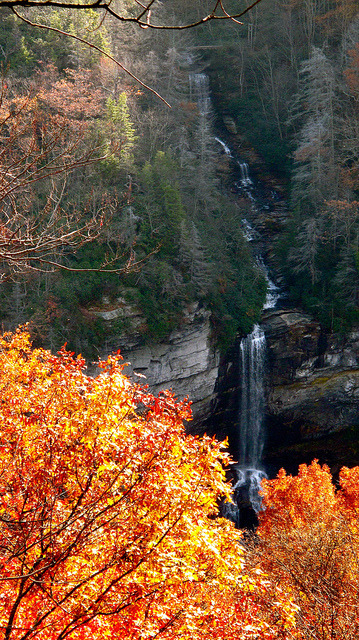 Raven Cliff Falls, Caesar's Head State Park on Flickr.