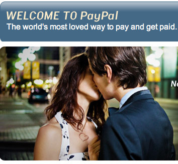 Apparently prostitutes take paypal.