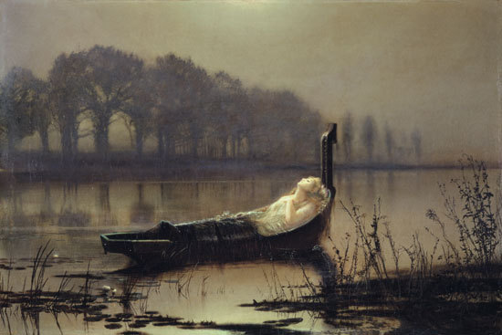 John Atkinson Grimshaw, The Lady of Shalott, 1875