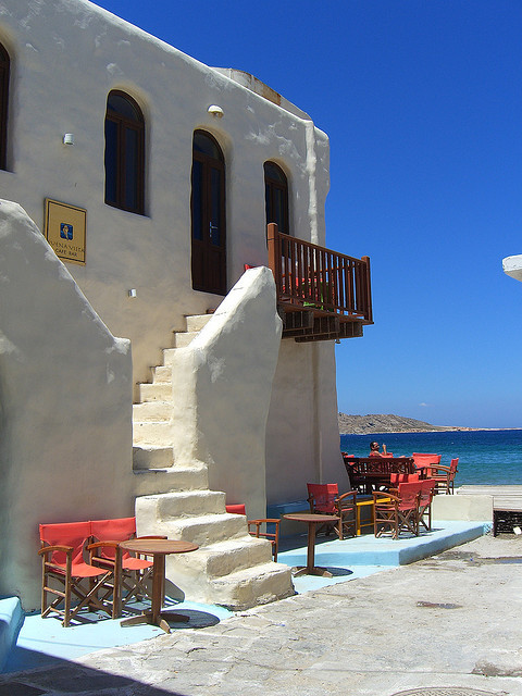 v-agabonds:  Paros Greece By Lebanese_Rose