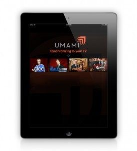 Umami for iPad Knows What's on Your TV   Unami seems at first glance to be very much like Yahoo's IntoNow app for iPads. So which is your choice and why?  (via Umami for iPad Knows What's on Your TV | PadGadget)