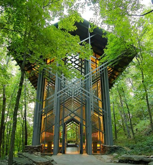 magicalnaturetour:  Thorncrown Chapel - Arkansas - USA Architect E. Fay Jones by ademiromano :)