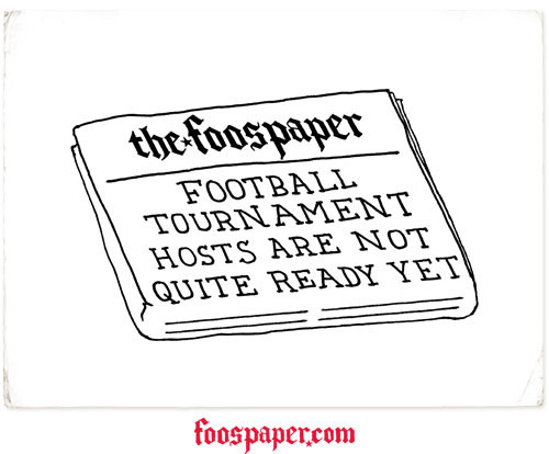 The Foospaper: Euro Exclusive