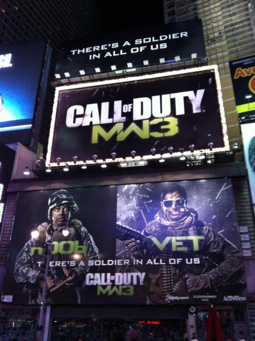 MW3 In Time Square