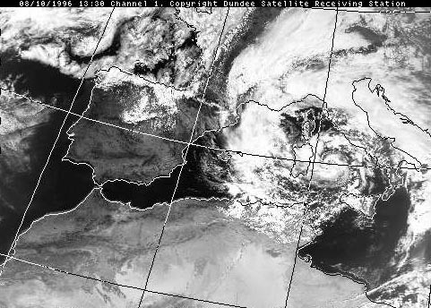 Sign of the Apocalypse #4,217: There's a tropical storm* in the Mediterranean. *OK, it's tropical storm like, but still.