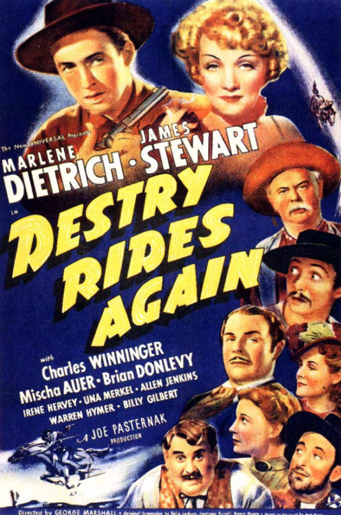 beautyandterrordance:  Right now: Destry Rides Again, 1939
