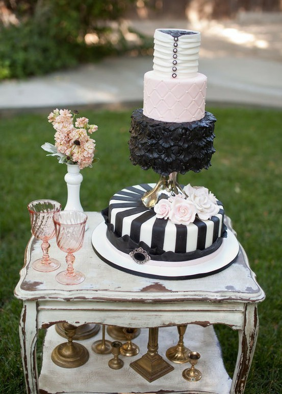 Not your typical wedding cake…I love it!