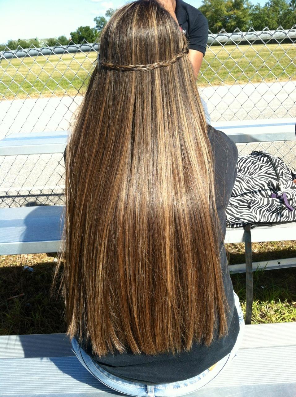 Фото девушек с красивыми мелированными волосами 10 фотография