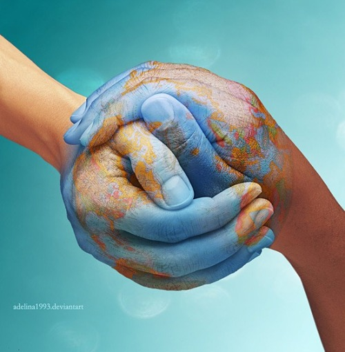ondulyne:  Adelina. The World Is In Our Hands.