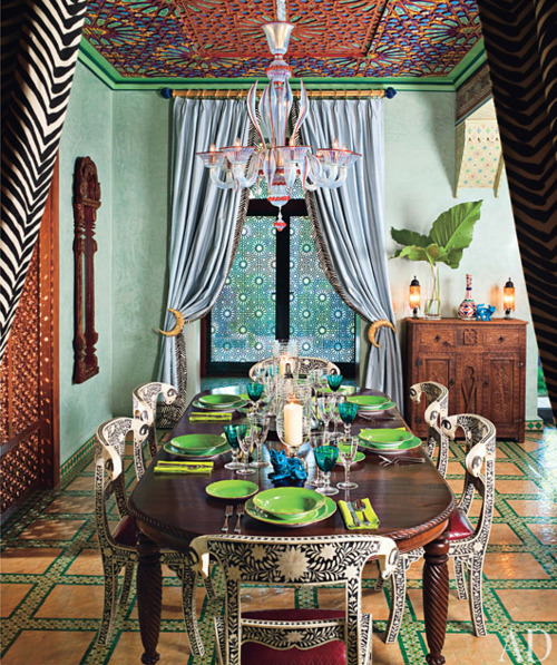 My Bohemian Home ~ Dining Rooms source: La Maison Boheme