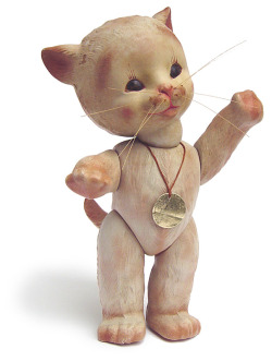 Anili Kitty Doll, 1940s by Galessa's Plastics on flickr
