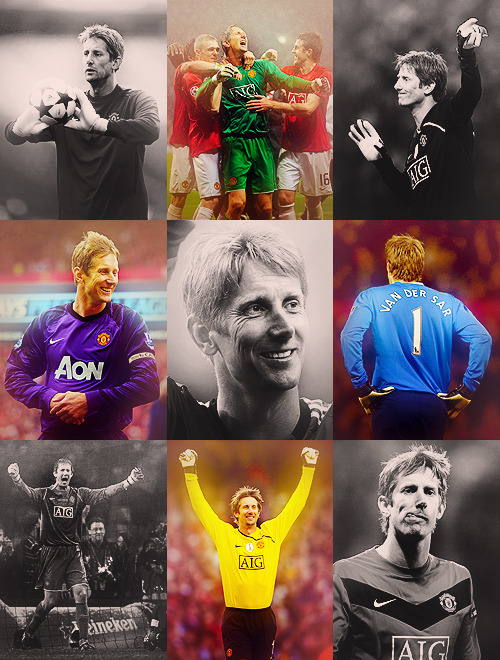 nine favourite pictures → edwin van der sar.asked by buggerallthisforalark and bennovo.