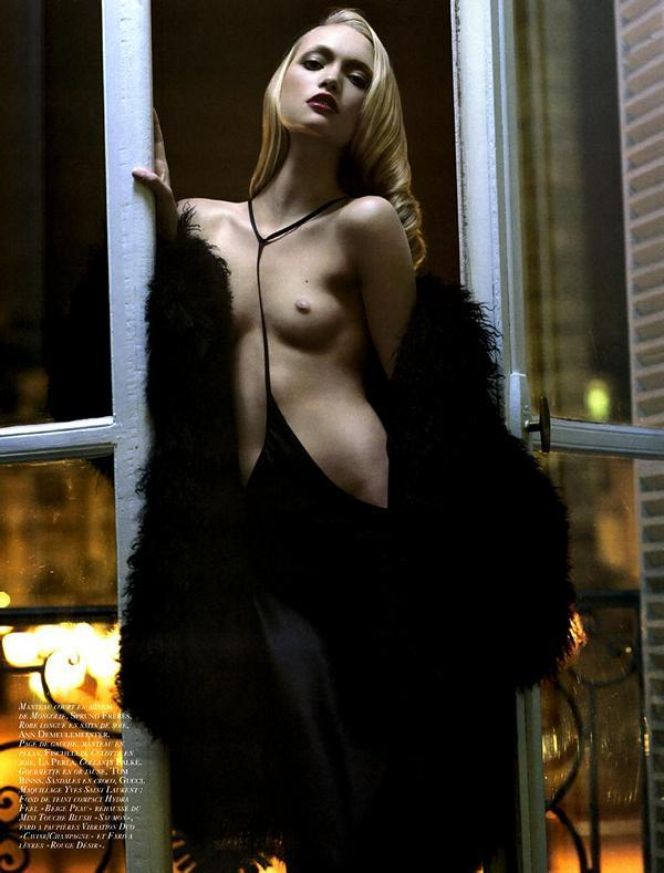 nudehaute:  Gemma Ward can be sultry and not just cute? thats actually surprising.