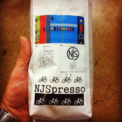 2012 GEAR GUIDE: NJSPRESSO   Just the right thing to get you pepped up on a race day!  Seen on Kyle's Flickr.