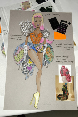 existingbarbie:  drickidrickidricki:  Nicki's outfit for the Victoria's Secret Fashion Show.